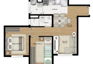 Apartamentos novos n...