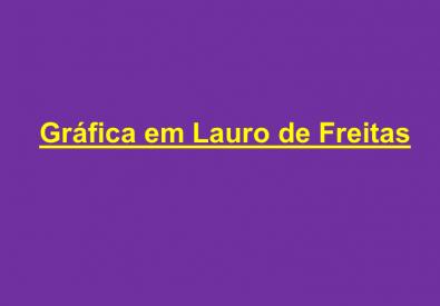 Gráfica em Lauro de ...