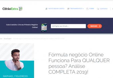 Fórmula Negócio onli...