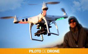 Curso de piloto dron...