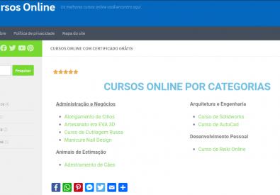 Portal Cursos Online