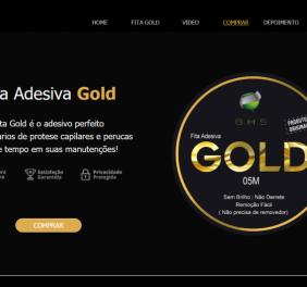 Fita Adesiva Gold Pa...