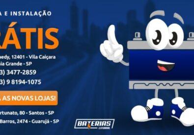 Baterias em Santos – Baterias Litoral